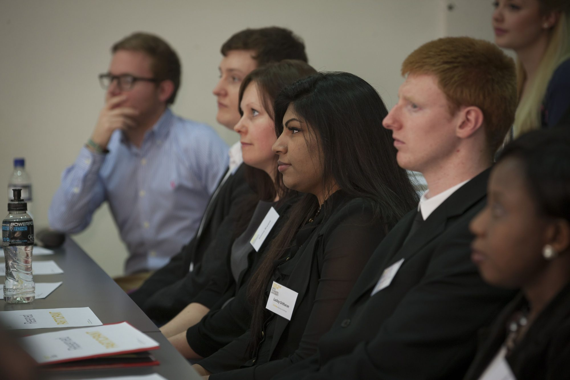 Formation Zone Business Challenge contestants in a workshop