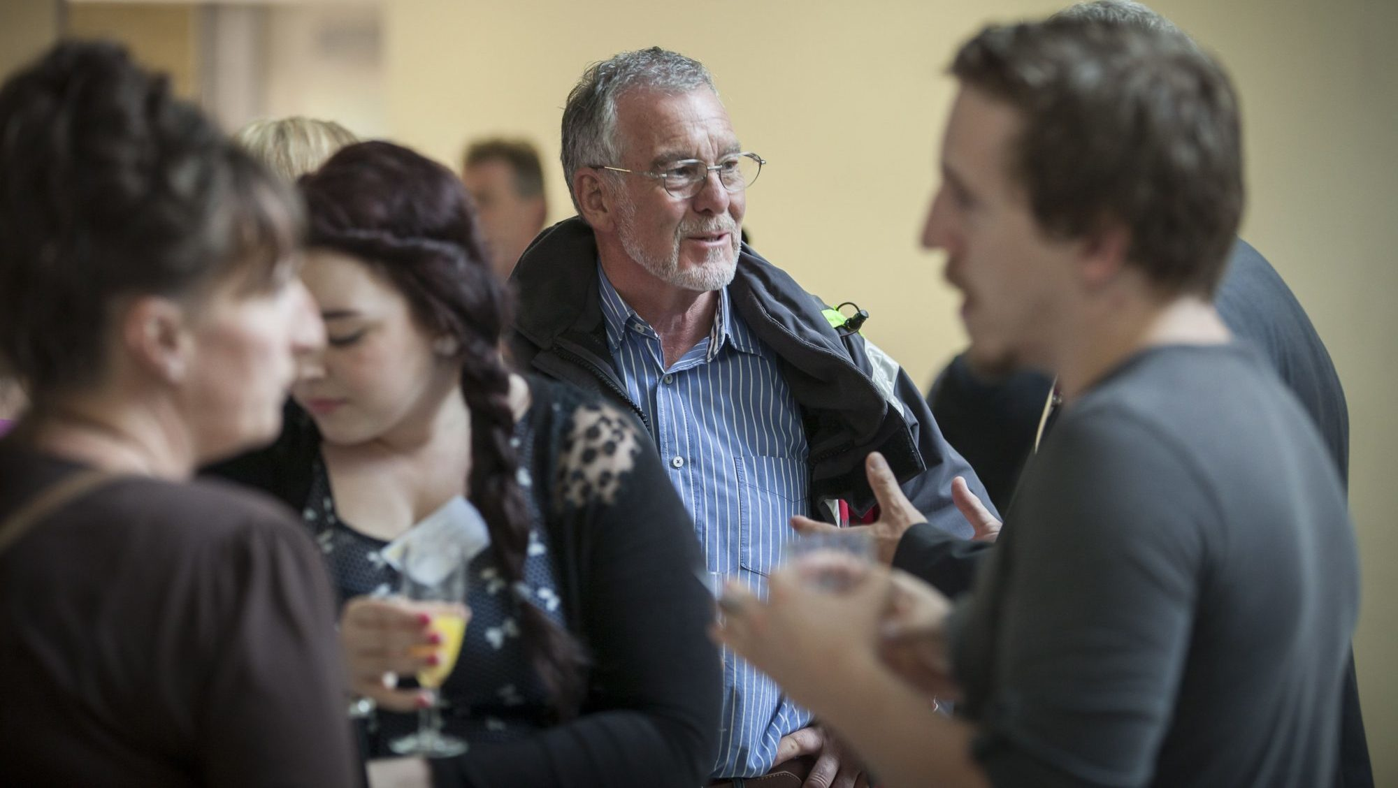 Networking event at Plymouth University