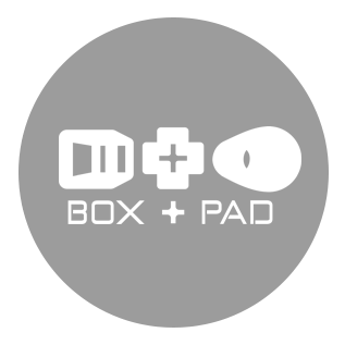 Box and Pad logo