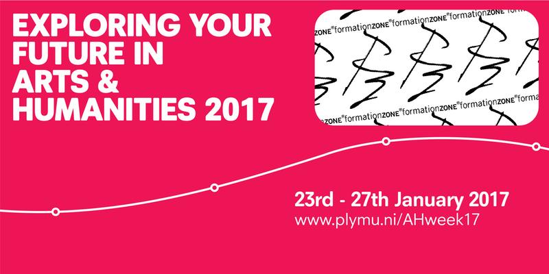 Exploring Your Future in Arts & Humanities banner