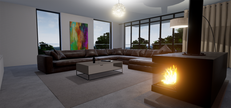 VR living room by TruVision