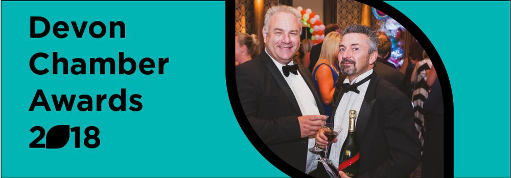Devon Chamber Awards advert